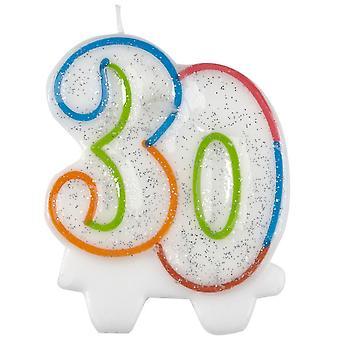 Amscan Milestone Number Birthday Candle