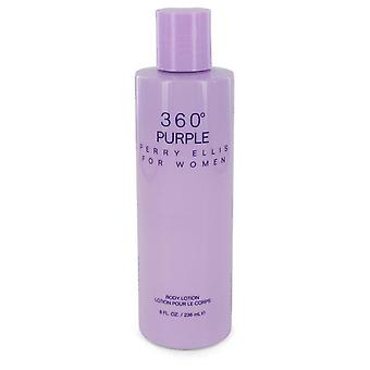 Perry Ellis 360 Purple Body Lotion By Perry Ellis 8 oz Body Lotion