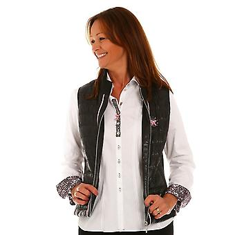 JUST WHITE Just White Black Gilet 62979