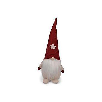 Santa Textile/Filz Rot 30 cm