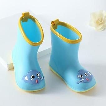 "Children""s Classic Shoes Pvc Rubber Kids Baby Cartoon Shoes,  Waterproof Rain"