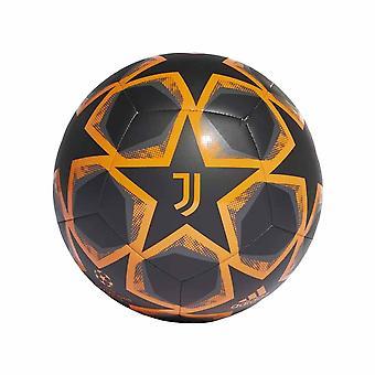 2020-2021 Juventus Finale Fußball (Schwarz)