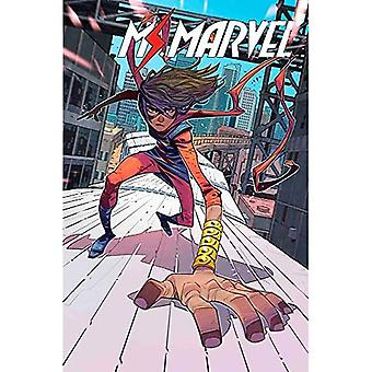 Ms. Marvel-tekijä Saladin Ahmed Vol. 1: Destined
