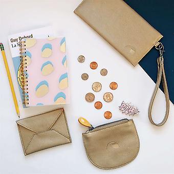 مجموعة نباتية- حقيبة بطاقة، محفظة ضئيلة ومحفظة عملة
