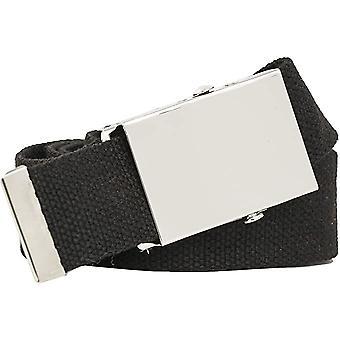 Cinturón de tela 3cm de ancho ajustable unisex