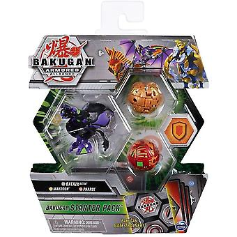 Bakugan Armored Alliance Starter Pack Darkus Batrix Ultra, Maxodon & Pharol
