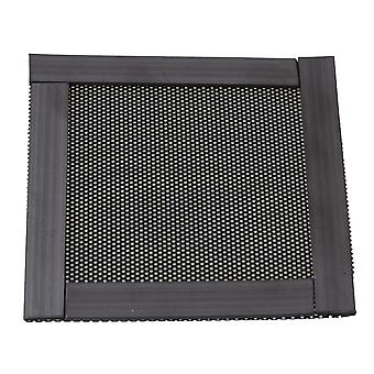 8x8cm PVC Black Cooler Fan Dust-proof Magnetic-type Mesh Filter
