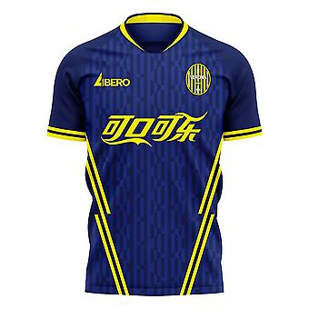 Hellas Verona 2020-2021 Home Concept Football Kit (Libero)