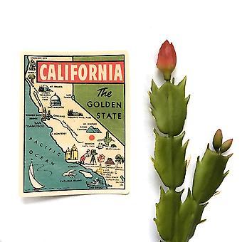 Vintage California vinilo pegatina