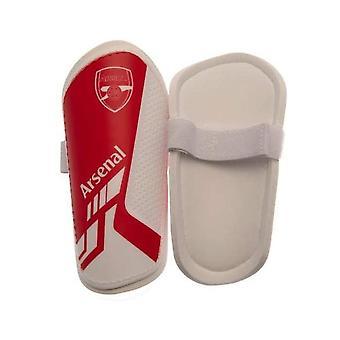 Arsenal FC Jalkapallo Jalkapallo Junior Slip Shinguard Shin Protection Punainen/Valkoinen