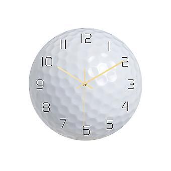 يانغفان الكرة على مدار الساعة الجدار على مدار الساعة ديكور المنزل