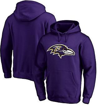 Baltimore Ravens Løs Hettegenser Hettegenser Topper WYK157