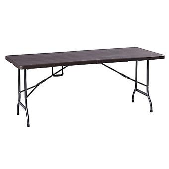 Folding garden table - catering table - 180x75 cm - up to 100 kg