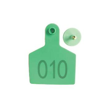 100 Pcs Cattle Ear Livestock Numbered Large Tags (en)