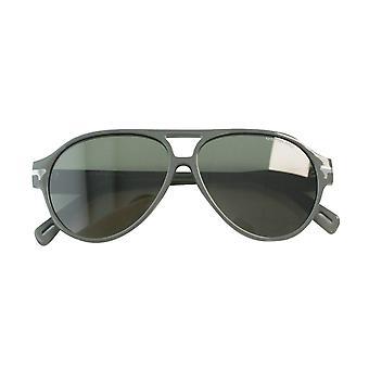 G- Star Raw Thin Sniper Matte Grey Acetate Mens UV Shades Sunglasses GS608S 035