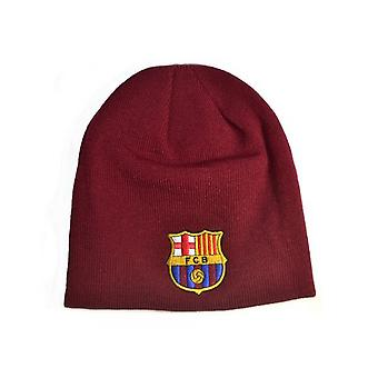 Chapéu de Beanie Unisex do FC Barcelona