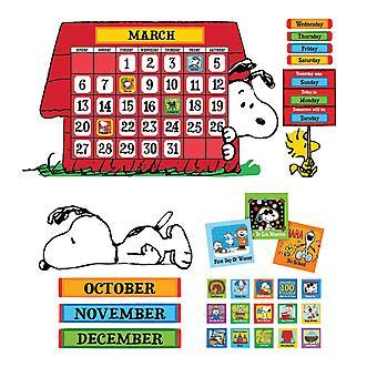 Conjunto de Tablones de Boletín calendario de cacahuetes