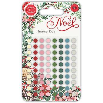 Craft Consortium Noel Enamel Dots
