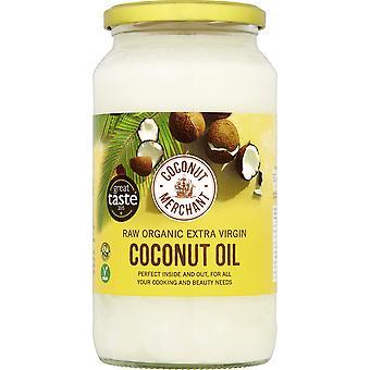 Kokosový obchodný organický kokosový olej 1l x 2 | extra panenský, surový, lisovaný za studena, nerafinovaný | Eticky