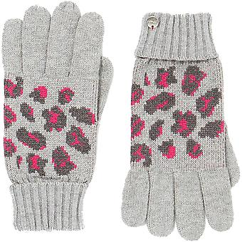 Joules Womens Trissy Jacquard Warm Winter Gloves