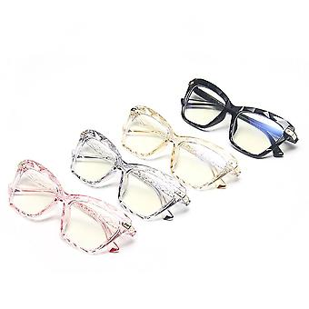 Women Cat Eye Anti Blue Light Glasses Trending Frame Computer Female Eyeglasses