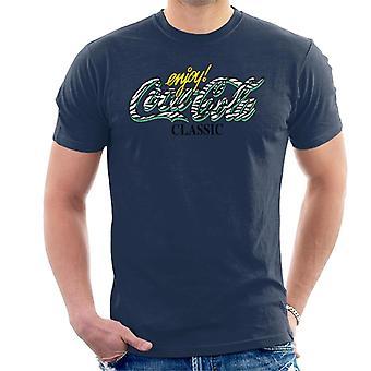可口可乐经典斑马标志男式T恤