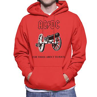AC/DC For Those About To Rock Men's Hooded Sweatshirt