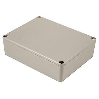 Hammond 1590XXLG Aluminium 'Stomp Box' Enclosure Grey (145 x 121 x 39mm)