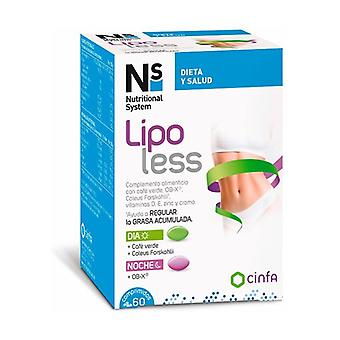 LipoLess 60 tablets