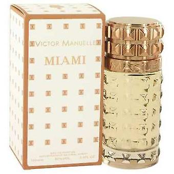 Victor Manuelle Miami By Victor Manuelle Eau De Parfum Spray 3.4 Oz (men) V728-517622