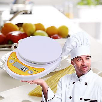 5kg/1g Lcd Digital Electronic Kitchen Scale For Food Weighing
