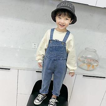 Baby Lille Denim Lang buksedragt