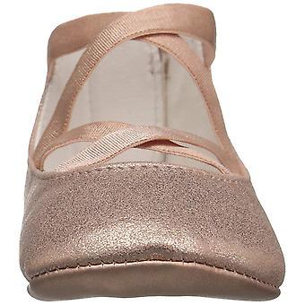 Ralph Lauren Layette Kids' Priscilla Pink Metallic Ballet Flat,