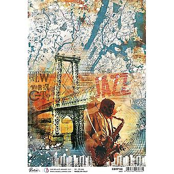 Ciao Bella A4 Rice Paper x5 - Jazz