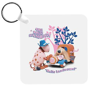 The Magic Roundabout Ermintrude & Dougal Hello Handsome Keyring