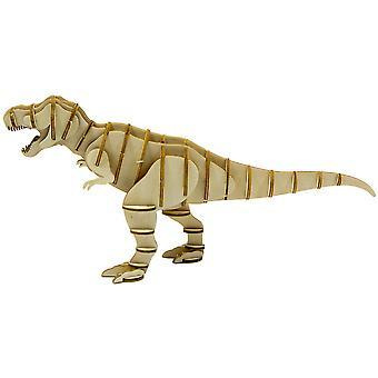 Incredibuilds Tyrannosaurus Rex 3D Wood Model