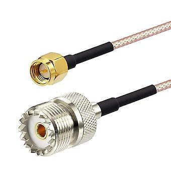 Extensión de cable para antena de radio portátil