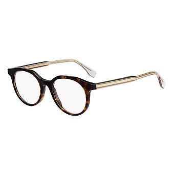 Fendi FF M0078 086 Havana Glasses