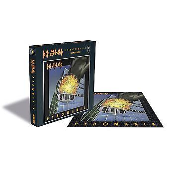 Def leppard - pyromania 500pc puzzle