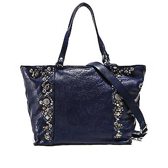 Campomaggi Embellished Leather Shopper Bag