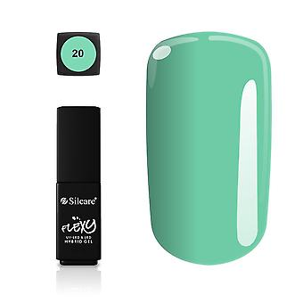 Silcare - Flexy - Hybrid gel - Farve: 20 - 4,5 gram