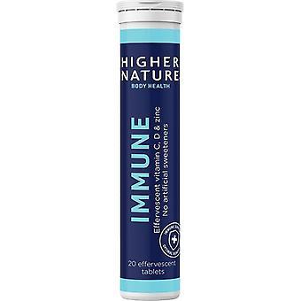 Higher Nature Immune Effervescent Tabs 20 (IMEF020)