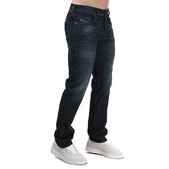 Herren Diesel Buster Regelmäßige Slim-Tapered Jeans in Blau