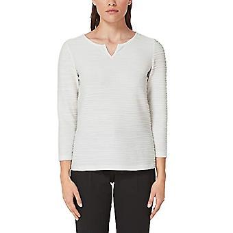 s.Oliver BLACK LABEL 01.899.39.5180 T-Shirt, White (Summer Creme 0115), 50 (Manufacturer Size: 44) Woman