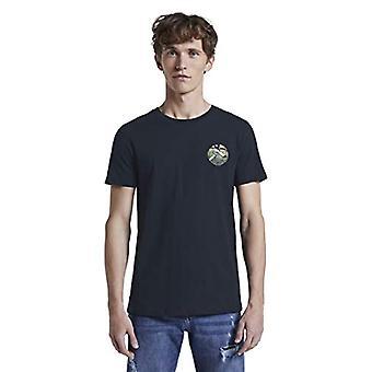 TOM SKRÄDDARE Denim Rundhals T-Shirt, 10668/Sky Captain Blue, XL Herrar