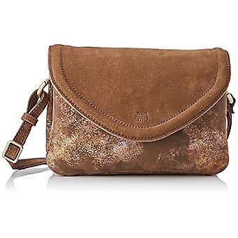 Mila Louise 3272MC-57, Brown Brown Women's Crossbody Bag (CANNELLE 57) 5x16x24 cm (W x H x L)