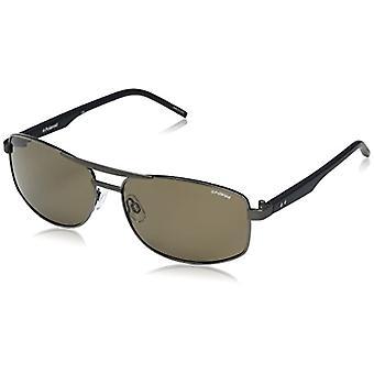 Polaroid PLD 2040/S IG RW2 Sonnenbrille, Blau (Dkruth Bluette/Brown Pz), 59 Herren