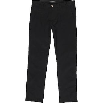 Pantalon Element Howland Chino en noir Flint