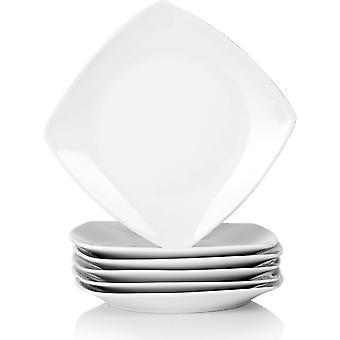, Serie Julia, 6 TLG. Set KLEIN Dessertteller Porzellan 16,7cm Kuchenteller fr 6 Personen