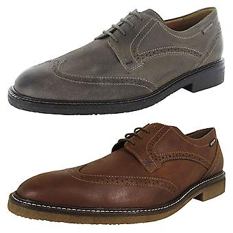 Mephisto Mens Geffray Wingtip Derby Shoes